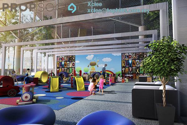 For Rent SoHo/Studio at Encorp Strand Residences, Kota Damansara Leasehold Semi Furnished 1R/1B 1.6k