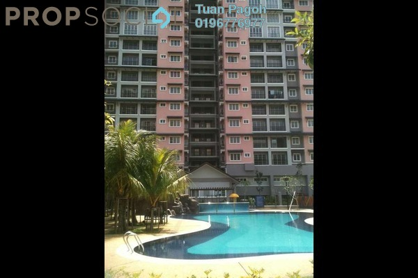 For Sale Condominium at Saujana Aster, Putrajaya Freehold Fully Furnished 3R/2B 450k
