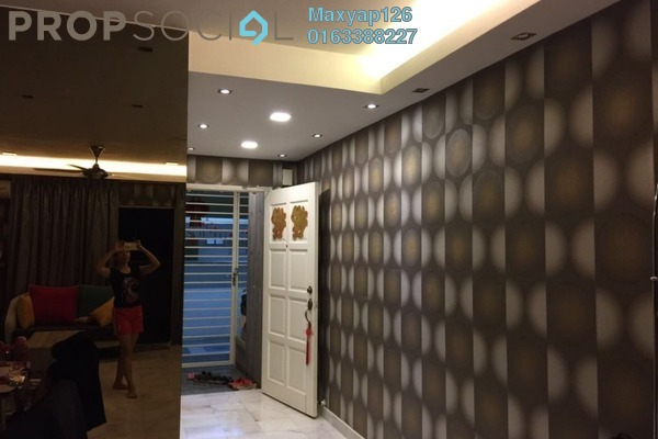 For Rent Condominium at Seri Puri, Kepong Freehold Semi Furnished 3R/2B 1.5k