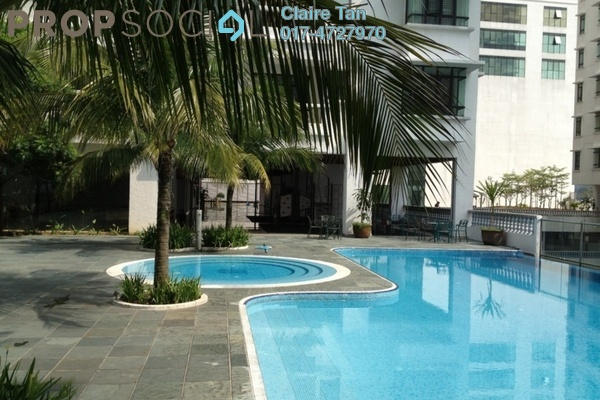 For Rent Condominium at The Heritage, Seri Kembangan Leasehold Fully Furnished 2R/2B 2.4k