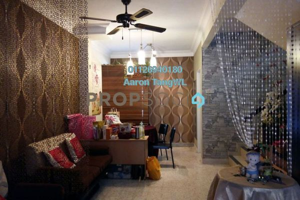 For Sale Terrace at Taman Sri Sinar, Segambut Freehold Semi Furnished 3R/2B 750k