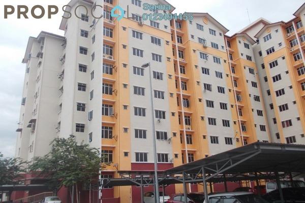 For Rent Apartment at Melor Apartment, Kajang Freehold Unfurnished 3R/2B 900translationmissing:en.pricing.unit