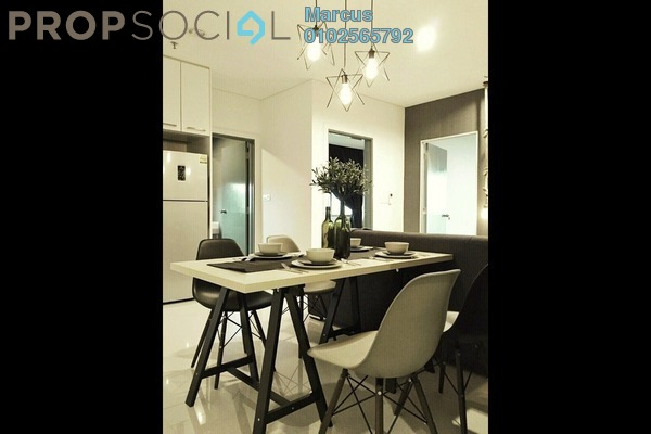 For Rent Condominium at Summer Suites, KLCC Leasehold Fully Furnished 2R/1B 3.8k