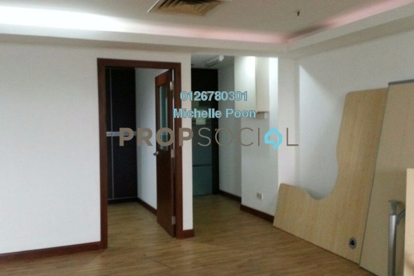 For Rent Office at Plaza Permata, Sentul Leasehold Fully Furnished 0R/0B 4k
