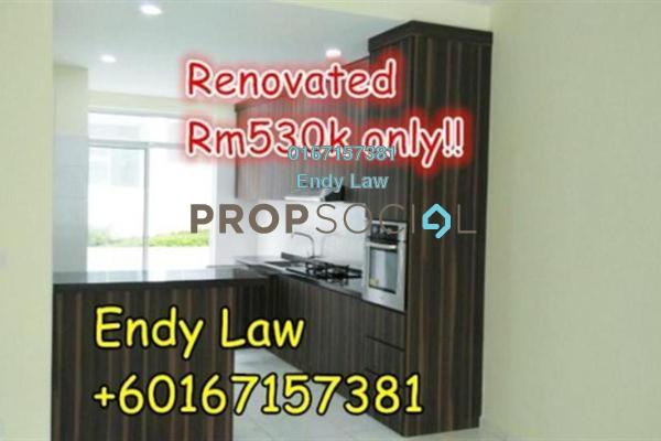 For Sale Terrace at Setia Eco Cascadia, Tebrau Freehold Semi Furnished 4R/4B 530k