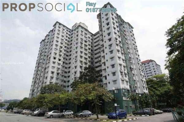 For Rent Condominium at Seri Mas, Bandar Sri Permaisuri Leasehold Semi Furnished 3R/2B 1.45k