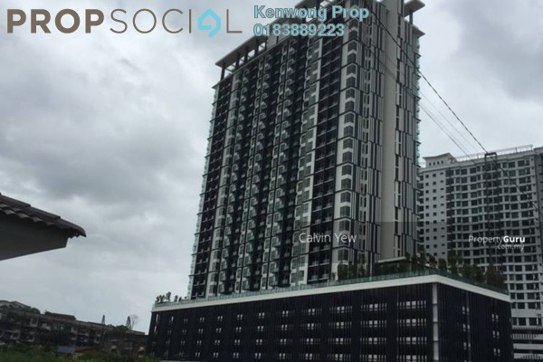For Rent Condominium at Residency V, Old Klang Road Freehold Semi Furnished 2R/2B 1.6k