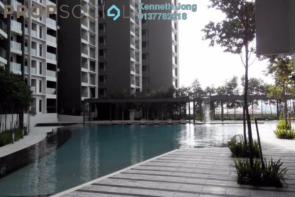 For Rent Condominium at Univ 360 Place, Seri Kembangan Leasehold Fully Furnished 3R/2B 2.1k