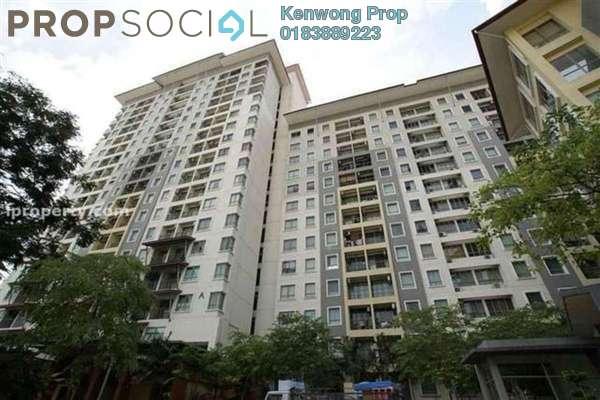 For Sale Condominium at Ritze Perdana 1, Damansara Perdana Leasehold Semi Furnished 1R/1B 405k