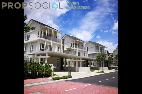 For Sale Villa at Senja, Seri Kembangan Leasehold Semi Furnished 5R/6B 3.1m
