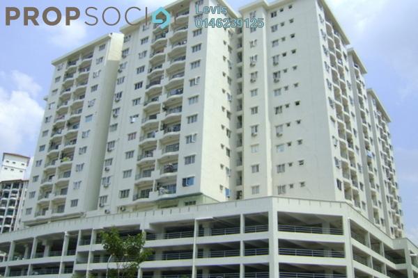 For Rent Condominium at Plaza Prima Setapak, Setapak Leasehold Semi Furnished 3R/2B 1.3k