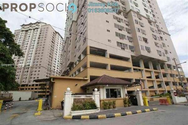 For Rent Condominium at Pelangi Indah, Jalan Ipoh Freehold Semi Furnished 3R/2B 1.2k