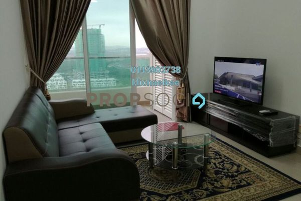 For Rent Condominium at Mutiara Ville, Cyberjaya Freehold Fully Furnished 3R/2B 2.3k
