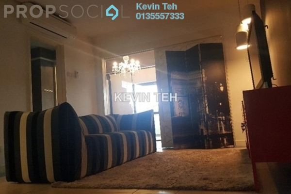 For Rent Condominium at Tivoli Villas, Bangsar Freehold Fully Furnished 2R/1B 2.6k