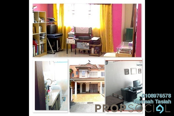 For Sale Terrace at Emerald West, Rawang Freehold Semi Furnished 4R/3B 485k
