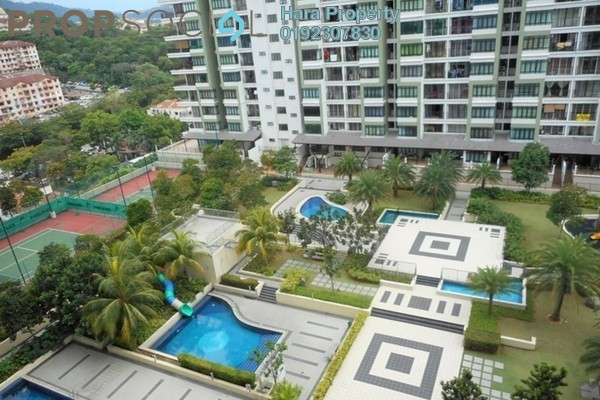 For Sale Condominium at One Damansara, Damansara Damai Leasehold Semi Furnished 2R/2B 470k