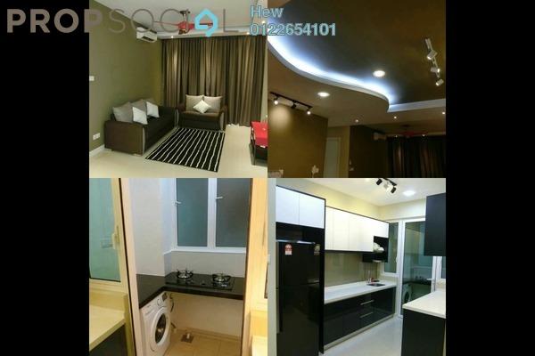 For Rent Condominium at Scenaria, Segambut Freehold Fully Furnished 3R/2B 2.5k