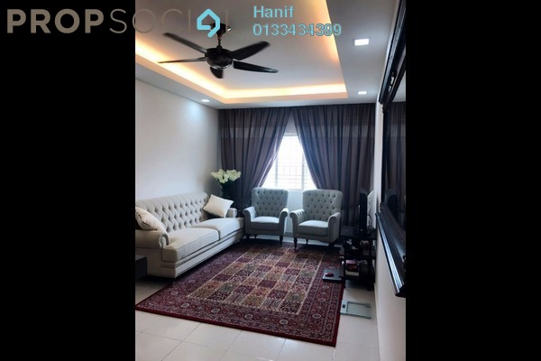 For Sale Apartment at Kemuning Aman, Kota Kemuning Freehold Semi Furnished 3R/2B 350k