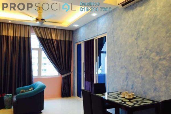 For Rent Condominium at Skypod, Bandar Puchong Jaya Freehold Fully Furnished 1R/1B 1.5k