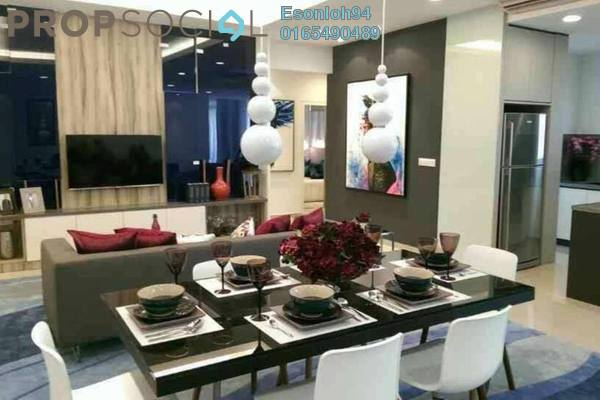 For Sale Condominium at Lakeville Residence, Jalan Ipoh Leasehold Semi Furnished 3R/2B 595k