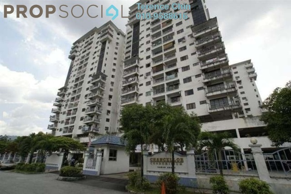 For Sale Condominium at The Chancellor, Ampang Freehold Semi Furnished 3R/2B 400k