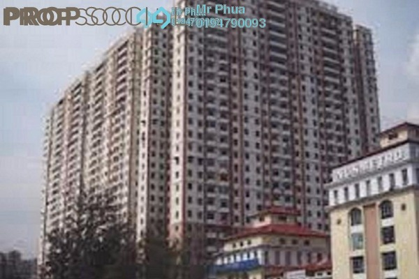 For Sale Condominium at Mutiara Heights, Jelutong Leasehold Fully Furnished 4R/4B 750k