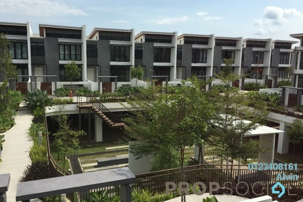 For Rent Superlink at Symphony Hills, Cyberjaya Freehold Fully Furnished 4R/5B 4.5k