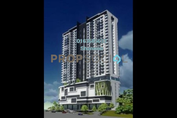 For Rent Condominium at Avantas Residences, Old Klang Road Freehold Semi Furnished 3R/2B 2.4k