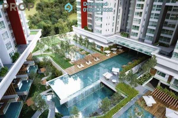 For Rent Condominium at Seringin Residences, Kuchai Lama Freehold Semi Furnished 4R/4B 3.2k