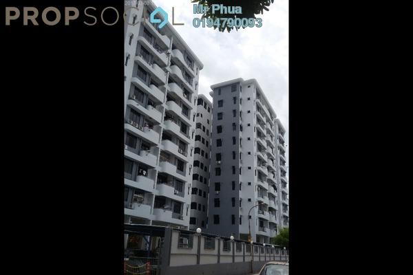 For Rent Condominium at Desa University, Sungai Dua Freehold Fully Furnished 3R/2B 1.4k