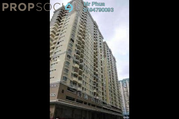 For Rent Apartment at Sri Kristal , Farlim Leasehold Fully Furnished 3R/2B 1.2k