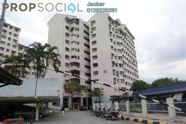For Rent Apartment at Indah Mas Apartment, Bandar Sri Permaisuri Freehold Semi Furnished 3R/1B 1k