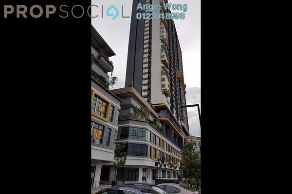 For Sale Serviced Residence at MKH Boulevard, Kajang Freehold Semi Furnished 2R/2B 450k