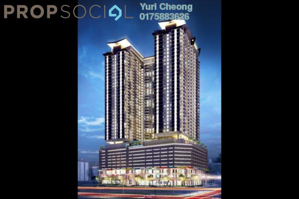 For Sale Condominium at Pinnacle, Sri Petaling Leasehold Semi Furnished 2R/2B 430k