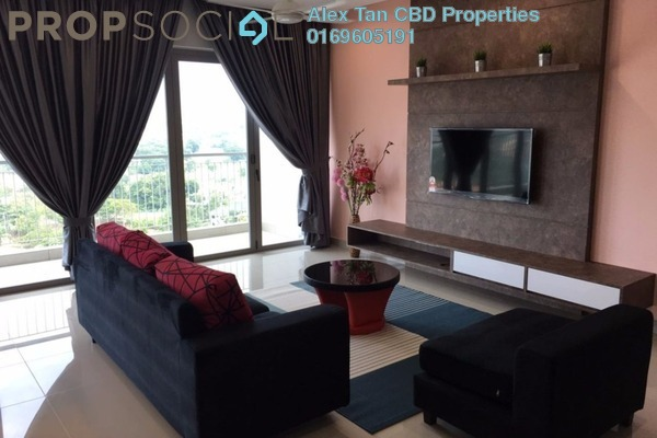 For Rent Condominium at KM1, Bukit Jalil Freehold Fully Furnished 3R/4B 4.7k