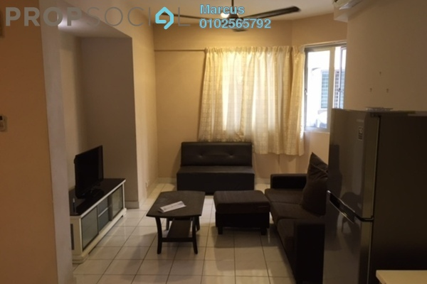 For Rent Condominium at Riana Green, Tropicana Leasehold Fully Furnished 1R/1B 1.8k