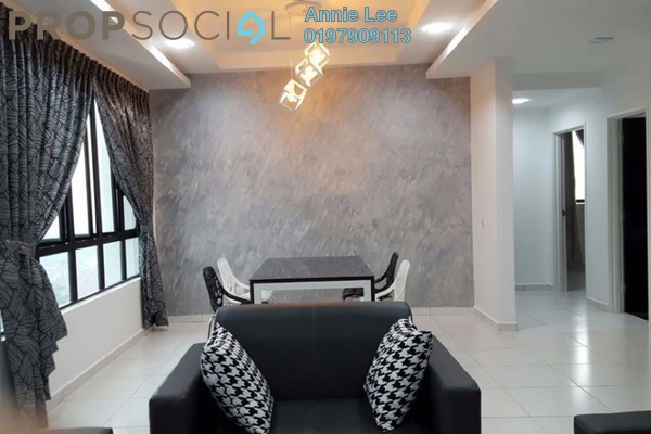 For Rent Condominium at Sky View, Bukit Indah Freehold Fully Furnished 3R/2B 3k