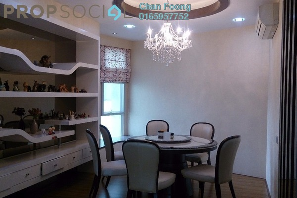 For Rent Condominium at Kiaramas Ayuria, Mont Kiara Freehold Fully Furnished 3R/2B 5k