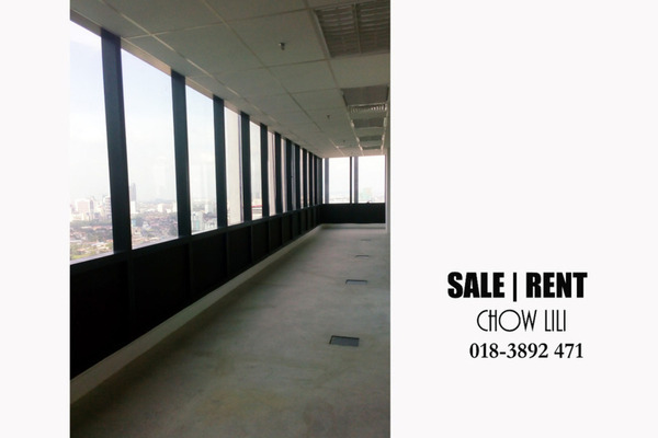 For Rent Office at KL Gateway, Bangsar South Leasehold Unfurnished 0R/0B 7.8k