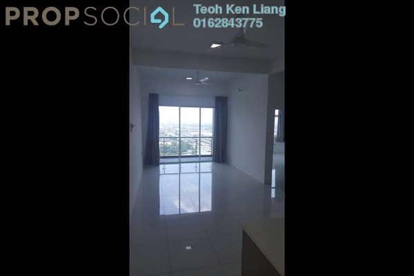 For Rent Condominium at Skypod, Bandar Puchong Jaya Freehold Semi Furnished 2R/2B 1.4k