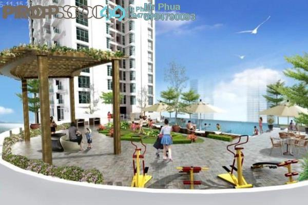 For Sale Condominium at Straits Garden, Jelutong Freehold Unfurnished 4R/2B 800k