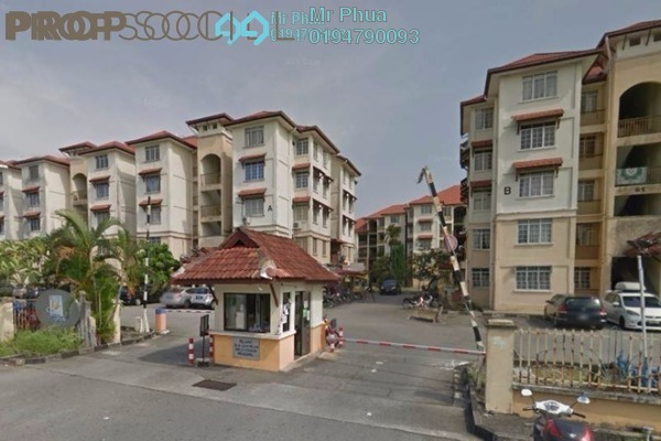 For Sale Condominium at Pesona Apartment, Seberang Jaya Freehold Unfurnished 3R/2B 220k