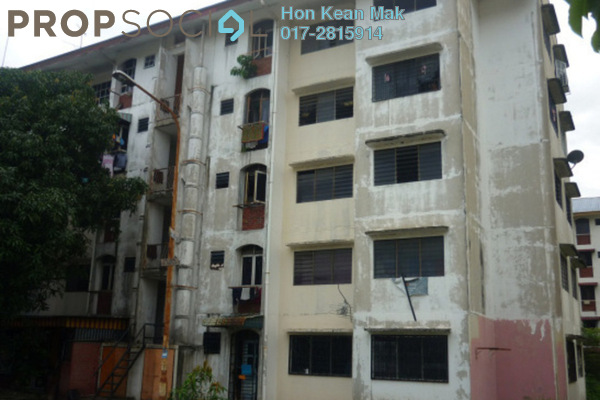 For Sale Apartment at Section 24, Shah Alam Leasehold Semi Furnished 3R/1B 155k