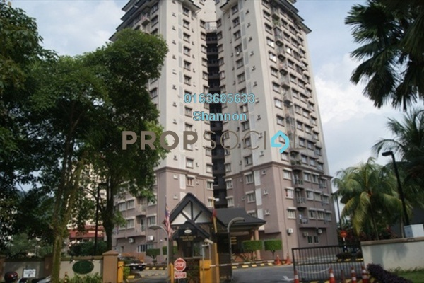 For Rent Condominium at Sri TTDI, TTDI Freehold Fully Furnished 3R/2B 2.5k