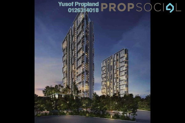 For Sale Condominium at Verdi Eco-dominiums, Cyberjaya Freehold Unfurnished 2R/2B 640k