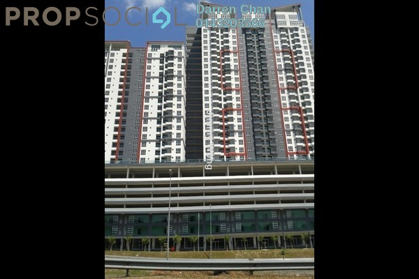 For Sale Condominium at Silk Residence, Bandar Tun Hussein Onn Freehold Unfurnished 3R/2B 395k