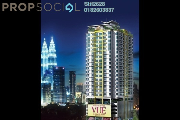 For Sale SoHo/Studio at Vue Residences, Titiwangsa Freehold Fully Furnished 0R/0B 455k