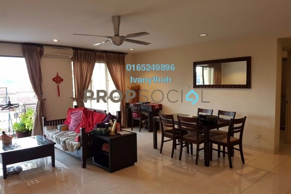 For Rent Condominium at Casa Indah 1, Tropicana Leasehold Fully Furnished 3R/3B 2.5k