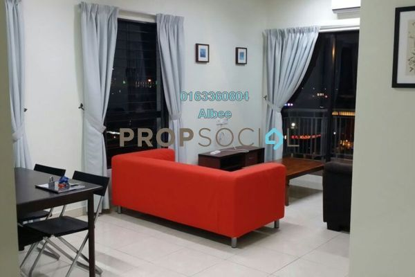 For Rent Condominium at Casa Indah 1, Tropicana Leasehold Fully Furnished 3R/2B 2.05k