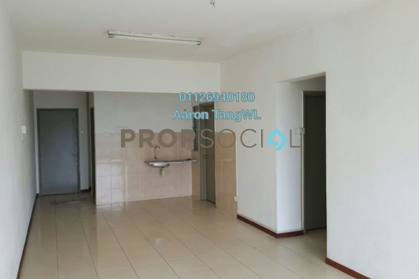 For Sale Condominium at Plaza Medan Putra, Bandar Menjalara Freehold Unfurnished 3R/2B 398k
